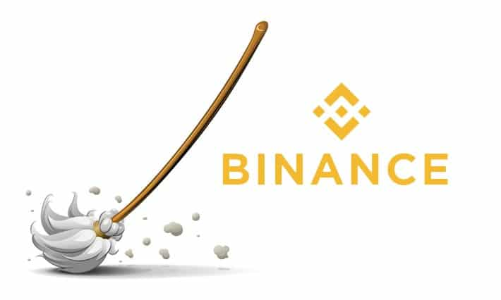Binance adds New 'dust' feature for Cryptocurrency fractions