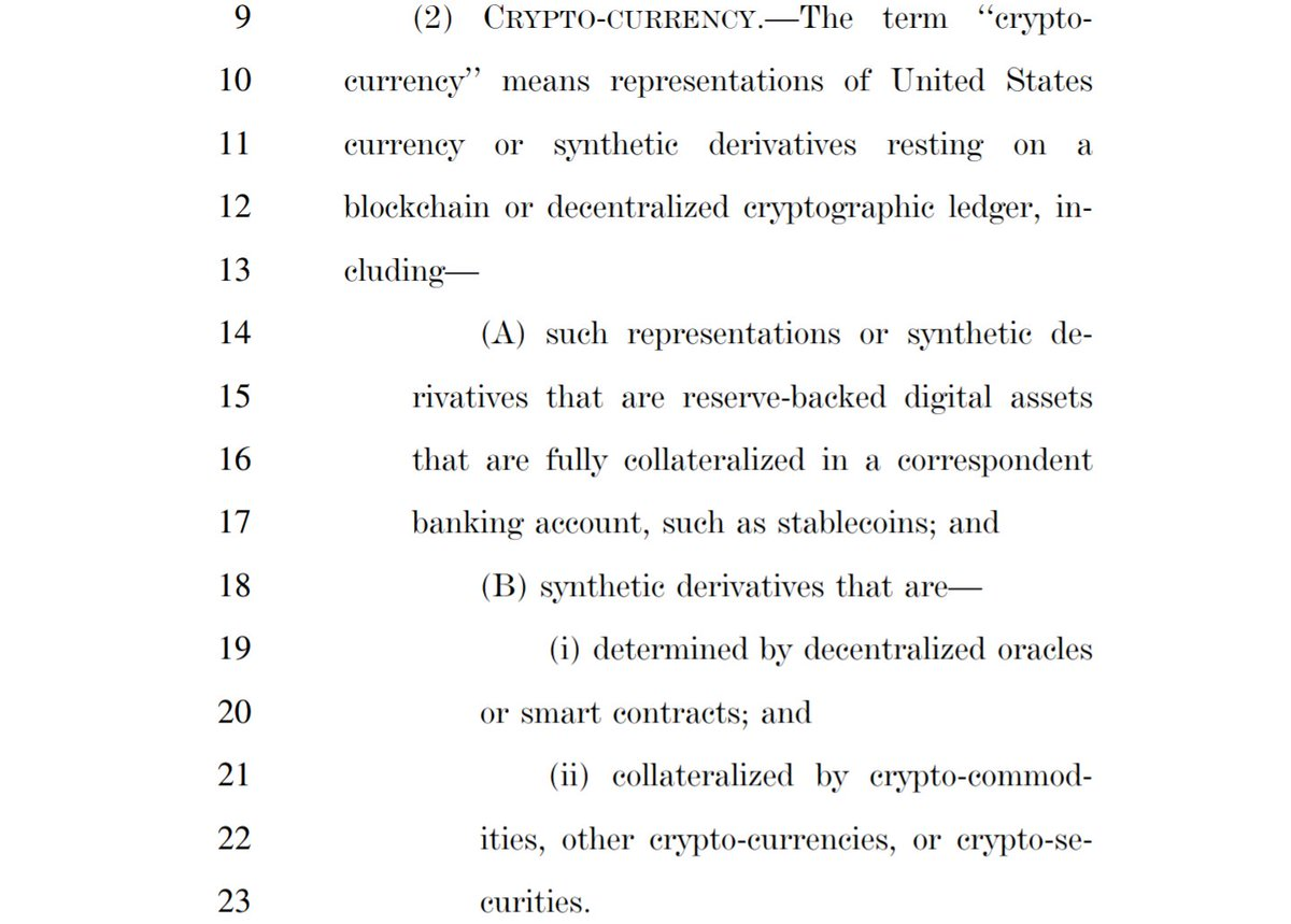 US Congressman Introduces Discussion Draft of Cryptocurrency Act of 2020 2